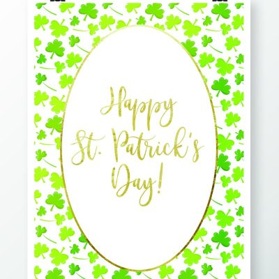 St. Patrick's Day Sayings Free Printables