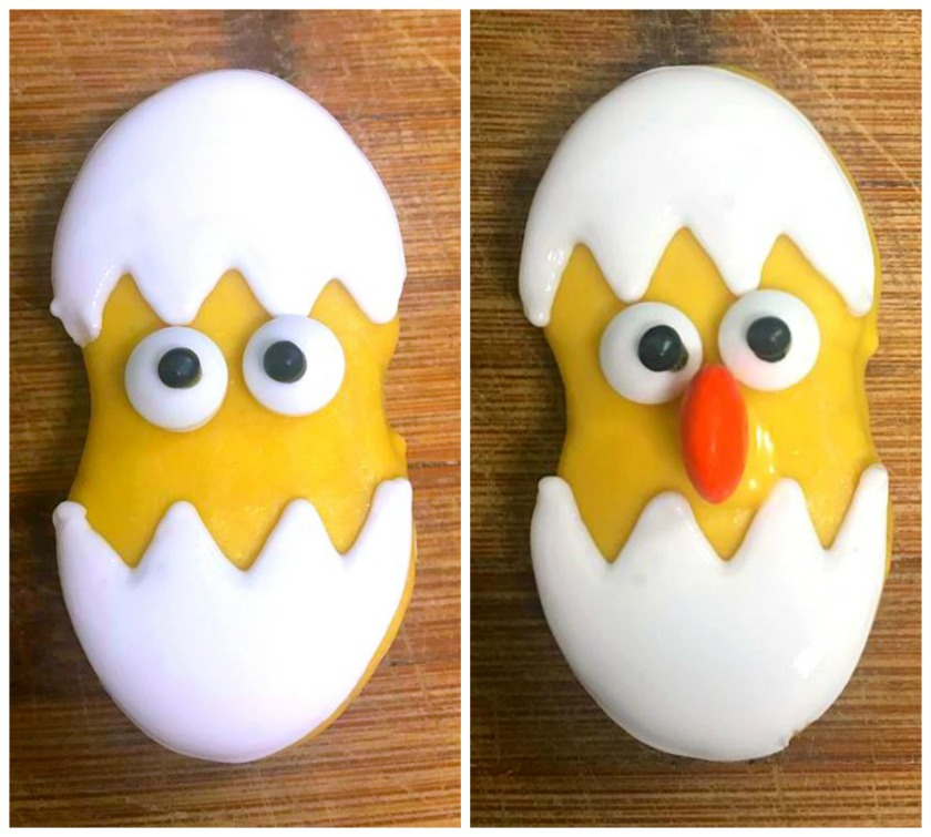 Nutter Butter Easter Chicks Cookies | OHMY-CREATIVE.COM | Easter Treats | Easter Desserts | Baby Chicks | Nutter Butter | Fun Easter Desserts | Easter Desserts Pinterest | #Easter #Easterdesserts #Easterchicks