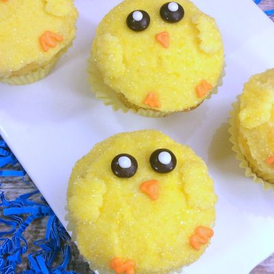Easter Chick Cupcakes Easter Dessert