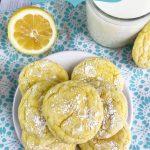Easy Lemon Cake Mix Cookies
