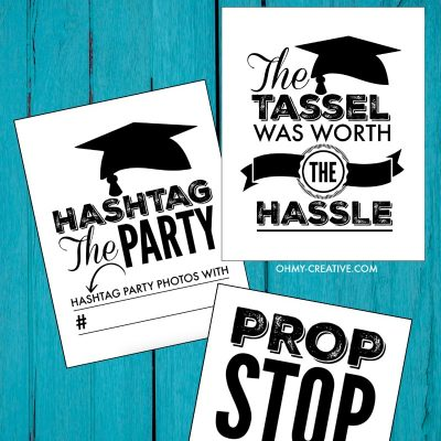 Printable Graduation Signs For Graduation Parties