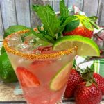 Mexican Strawberry Tequila Mojito