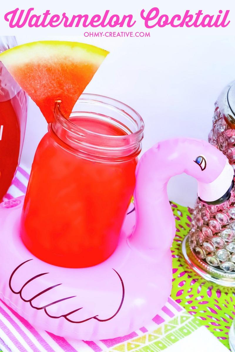 Delicious Watermelon Cocktail Recipe