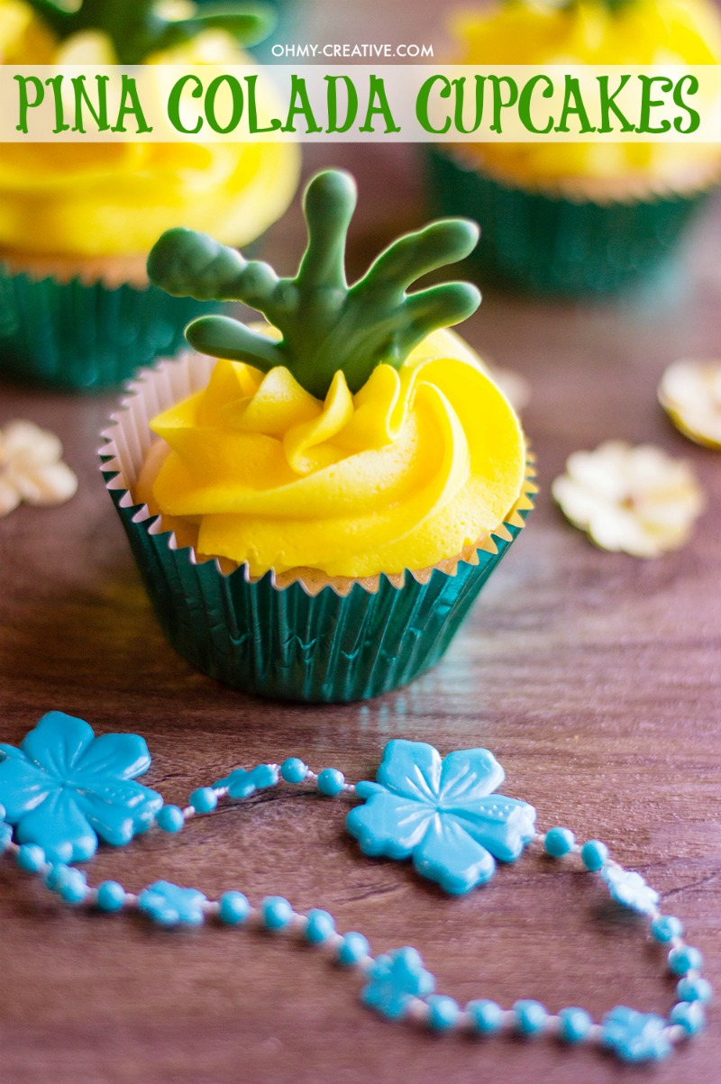 Piña Colada Cupcakes