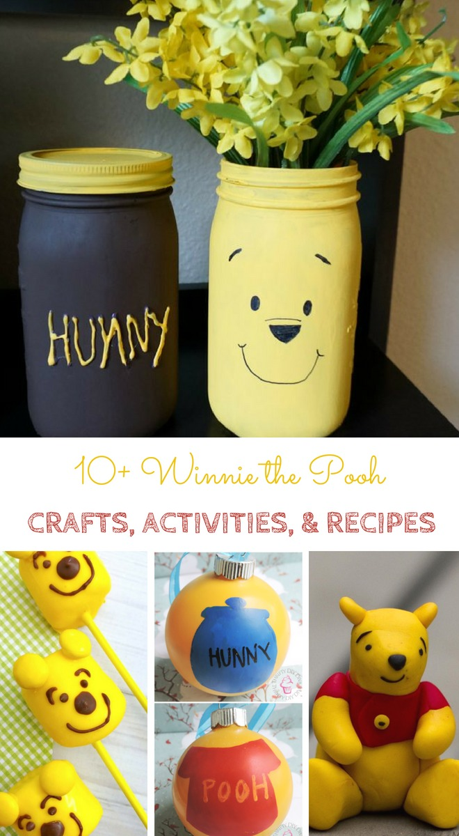 Winnie The Pooh Activities, Crafts And Recipes