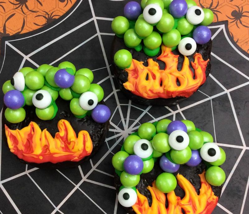 Witches Cauldron Semi-Homemade Halloween Treat