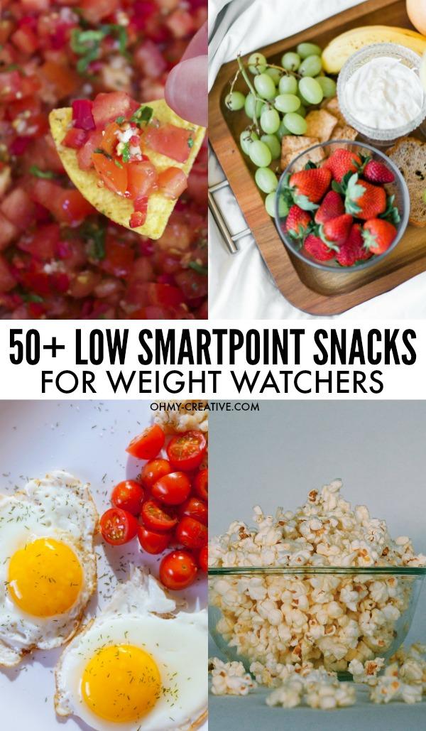 50+ Tasty Weight Watchers Low SmartPoint Snacks