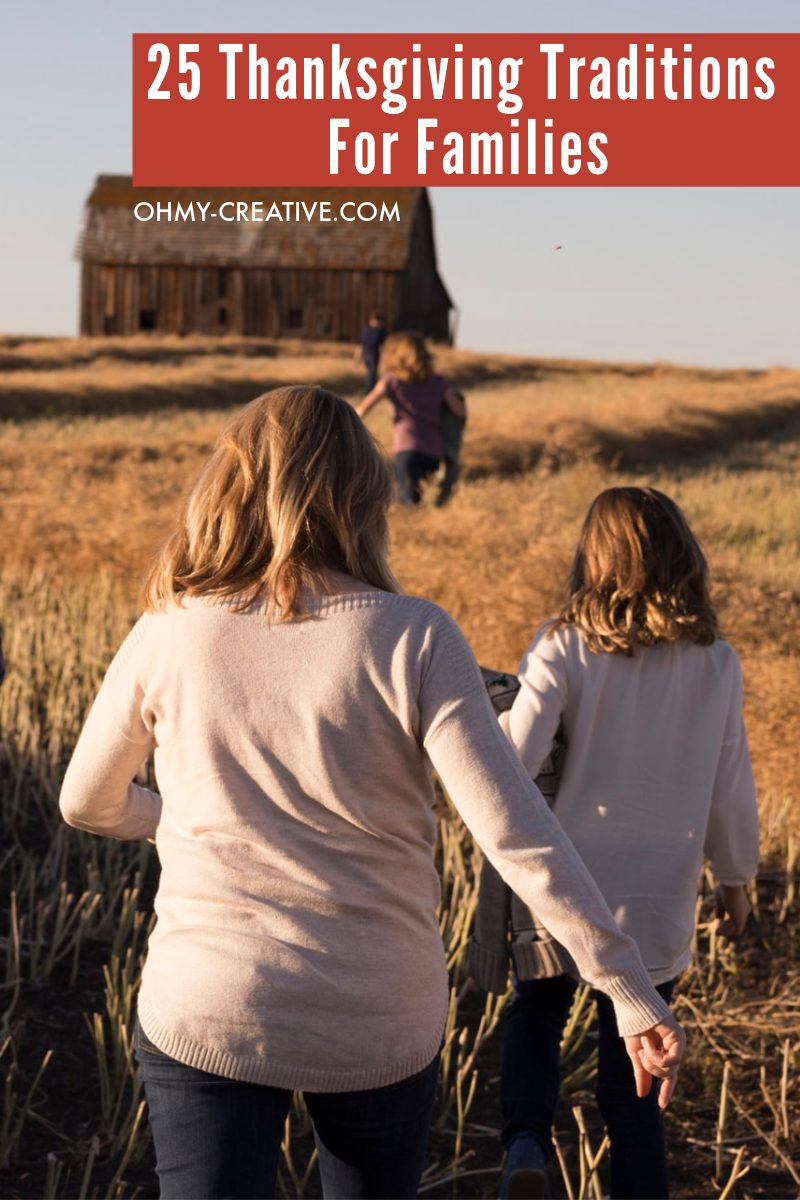 Take a walk and enjoy the great outdoors on Thanksgiving with the family!