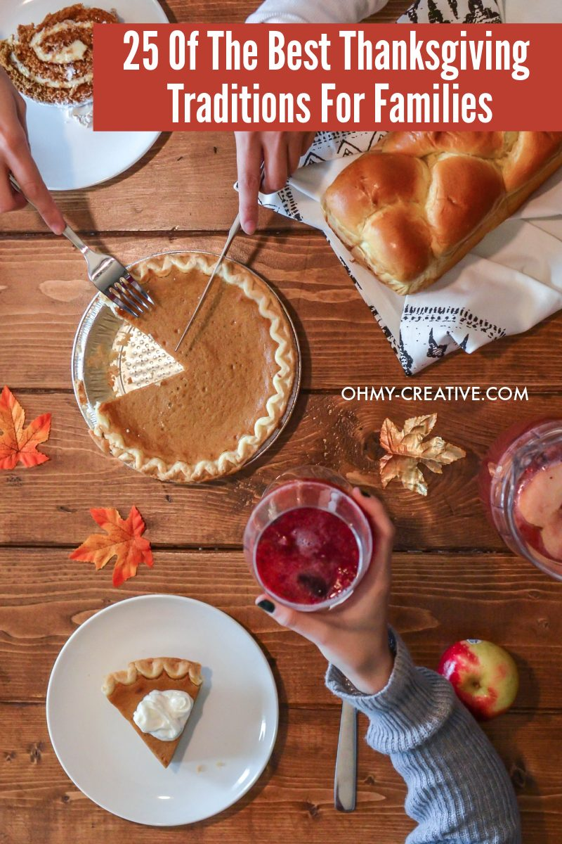 Enjoy Thanksgiving dinner with pumpkin pie and homemade breads along with the traditional turkey dinner!