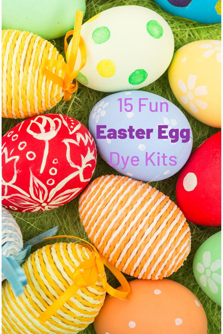 15 Fun Easter Egg Dye Kits Kids Will Love