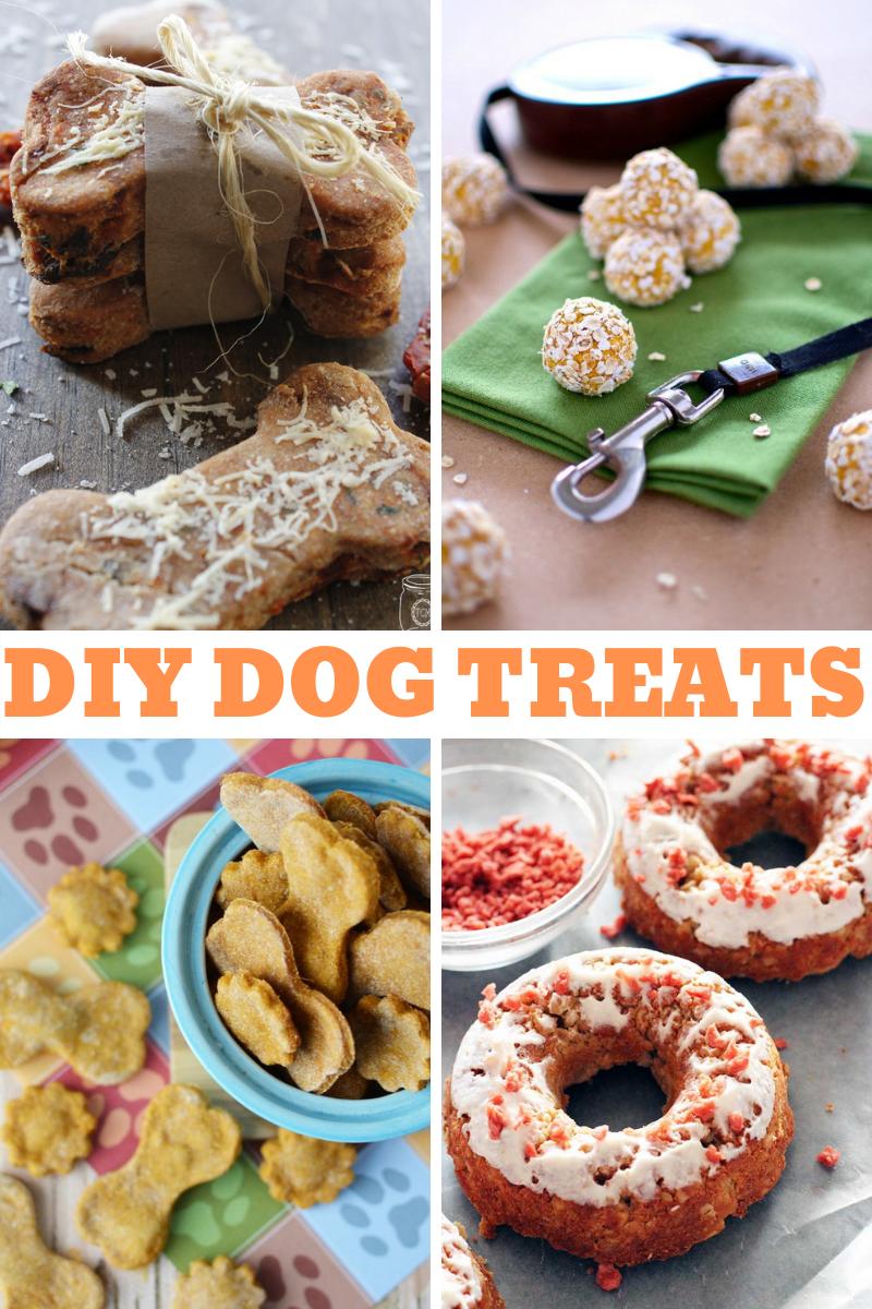 16 DIY Dog Treats That Look Good Enough To Eat
