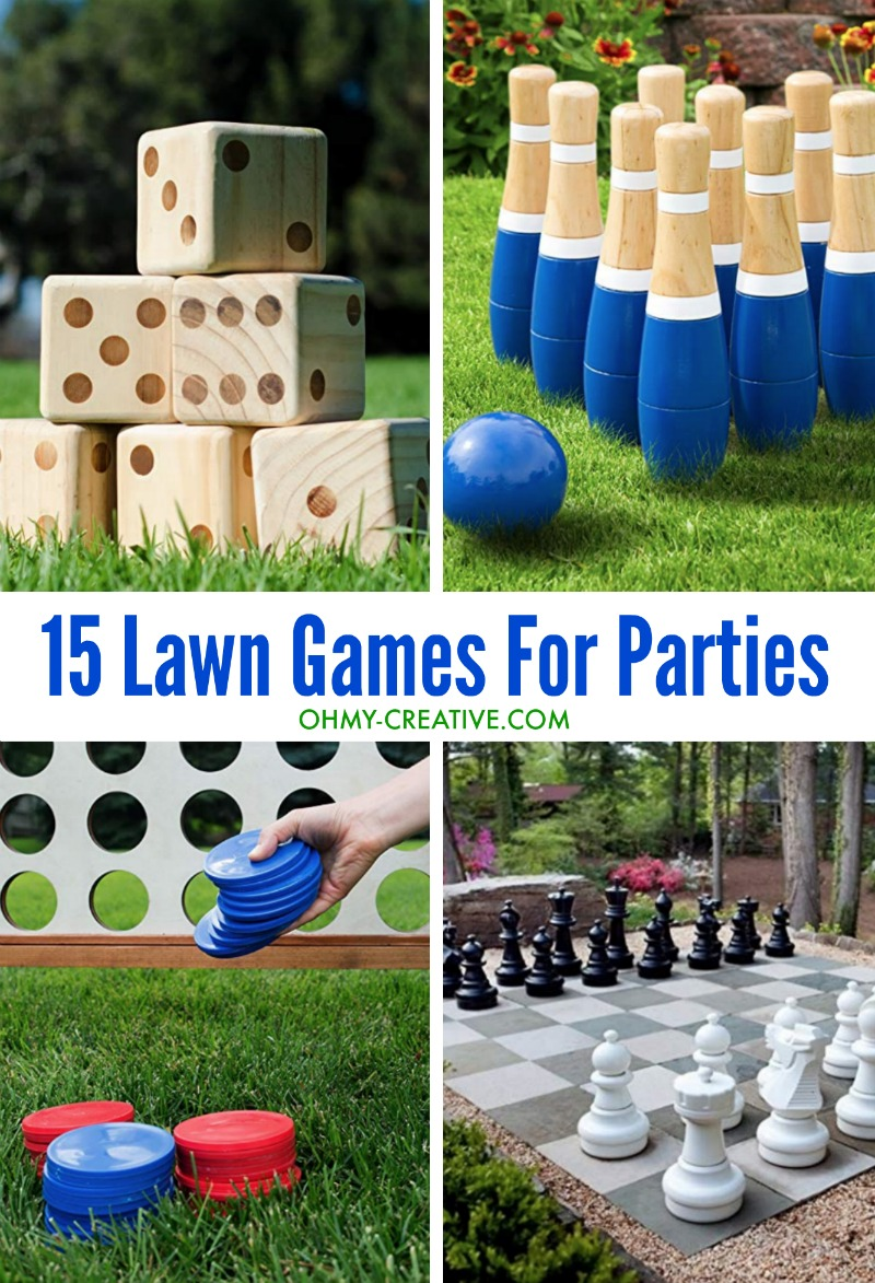 The Best 15 Outdoor Yard Games For Your Next Party Oh My Creative