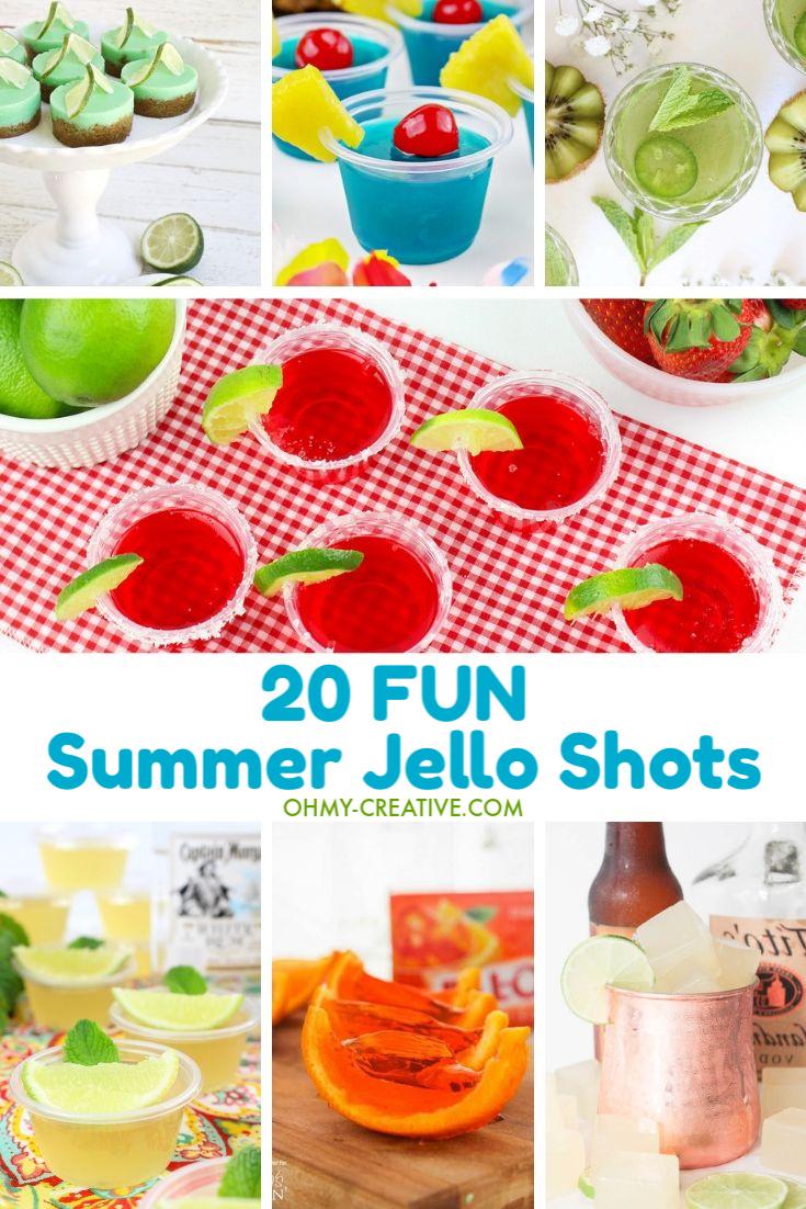 Fun Summer Jello Shots – 20 Different Kinds