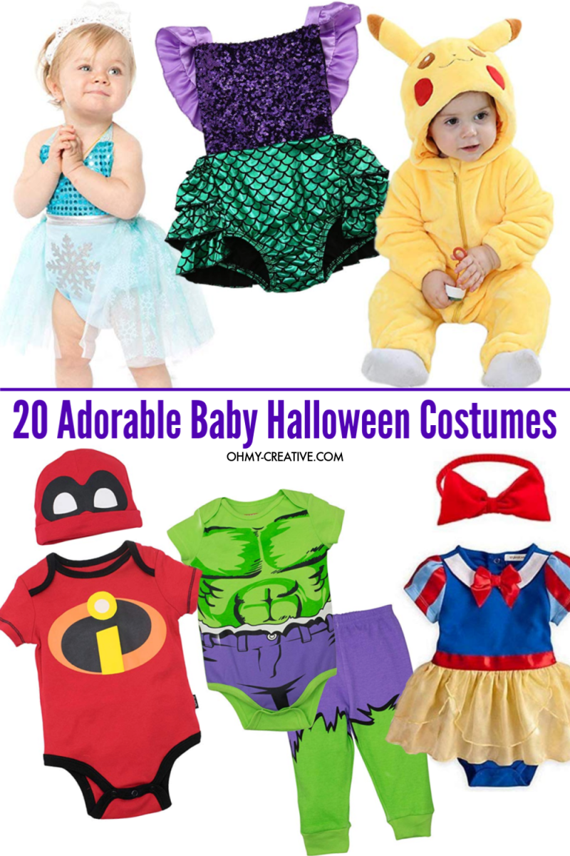 First baby character Halloween costume ideas