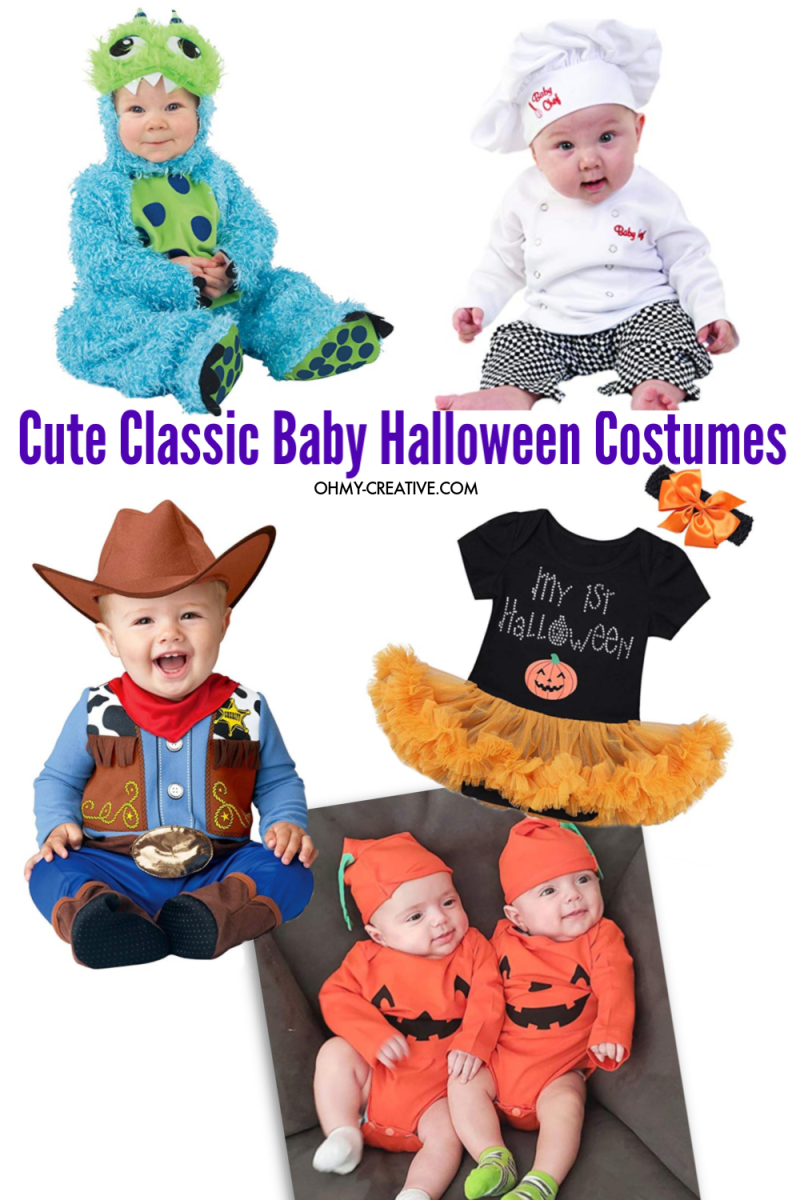 Classic Baby Halloween Costume Ideas you can purchase on Amazon