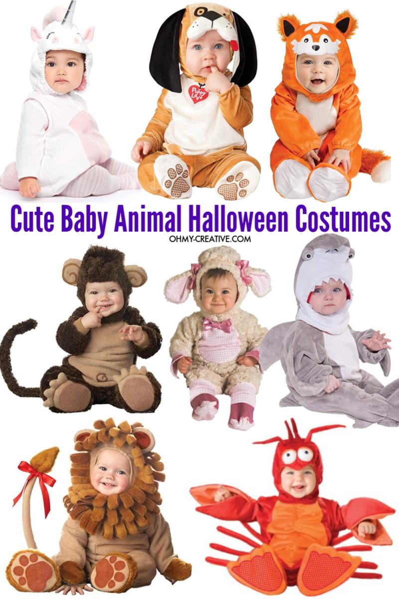 9 Animal themed baby Halloween Costume Ideas