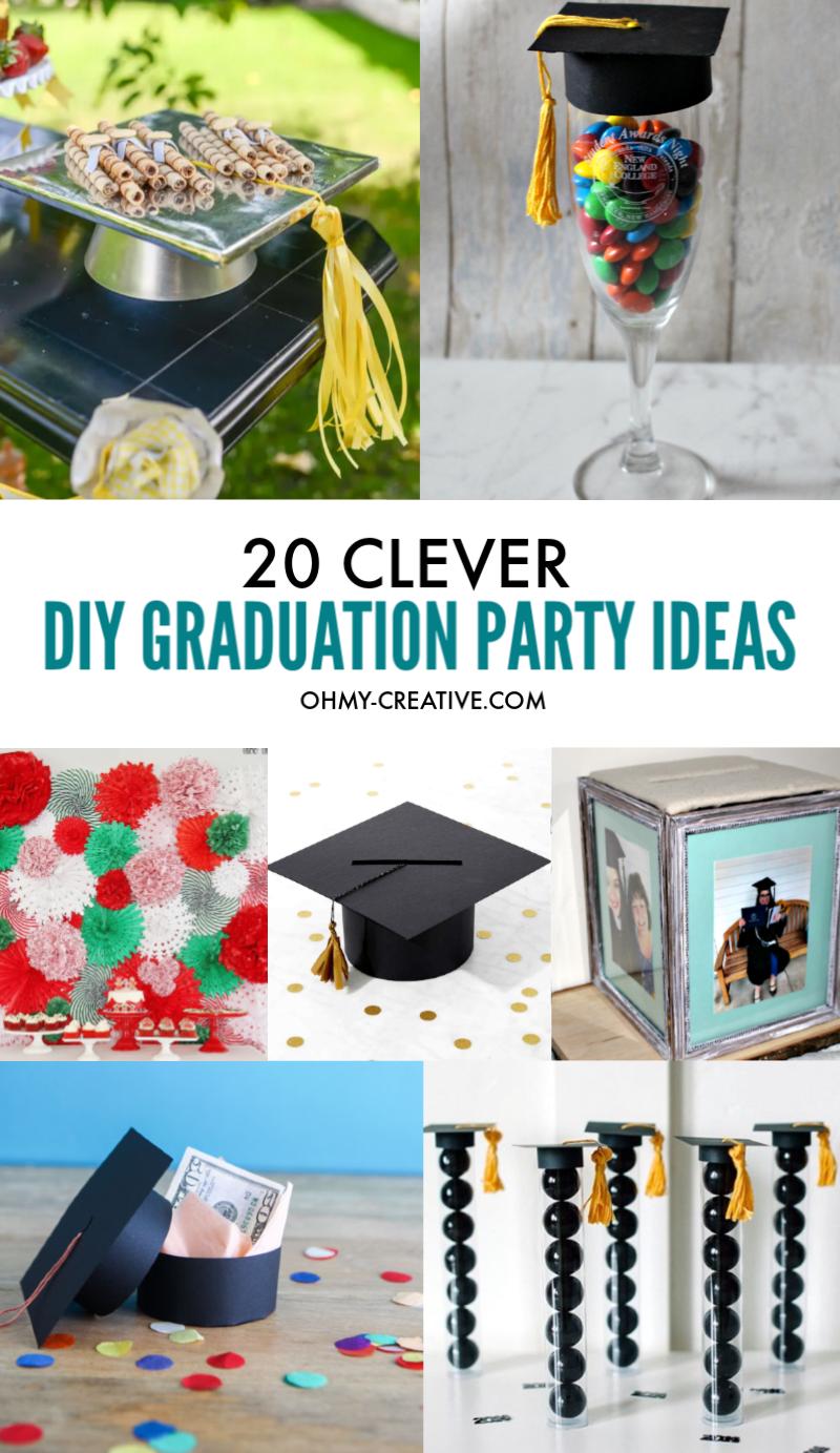 20 Clever DIY Graduation Party Ideas