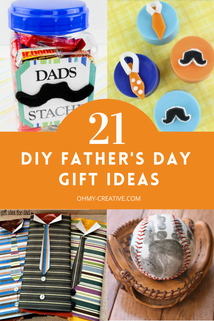 21 DIY Father's Day Gift Ideas