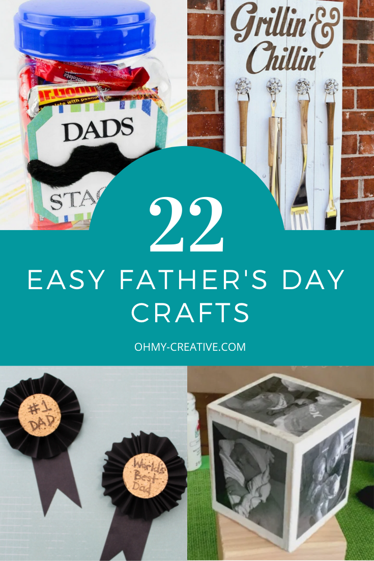 22 Easy Father's Day Crafts