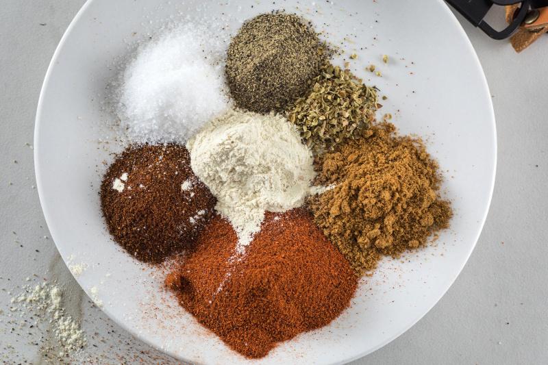 Ingredients in homemade taco seasoning