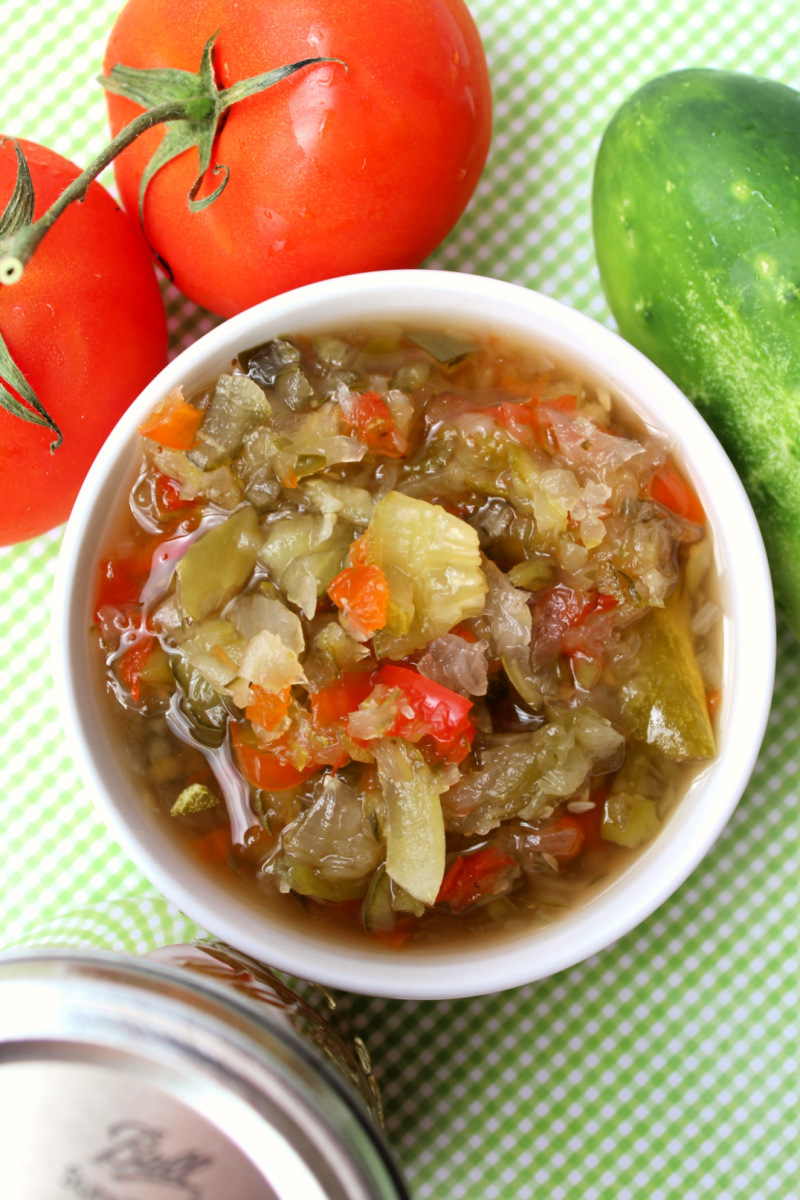 Sweet Pickle Relish Recipe For Canning Oh My Creative