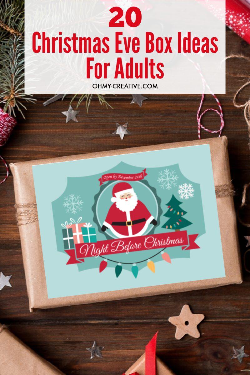 20 Christmas Eve Box Ideas For Adults