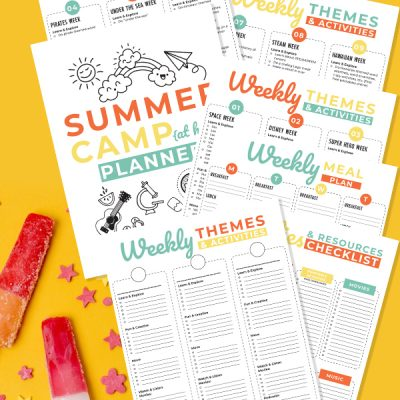 Download and print this free summer camp planner.