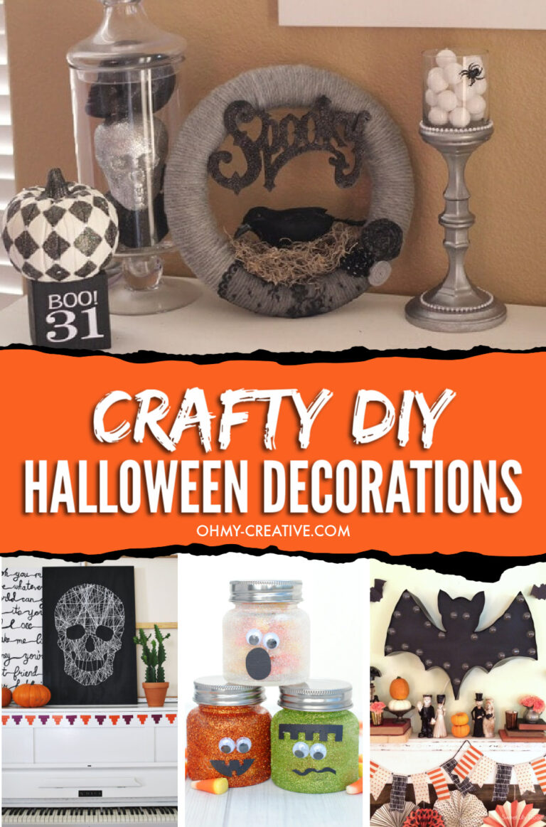 Crafty Do It Yourself Halloween Decorations