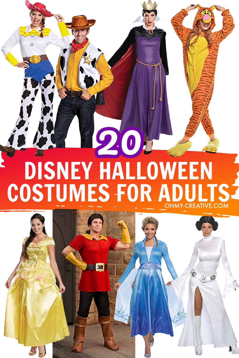 20 Disney Halloween Costumes For Adults