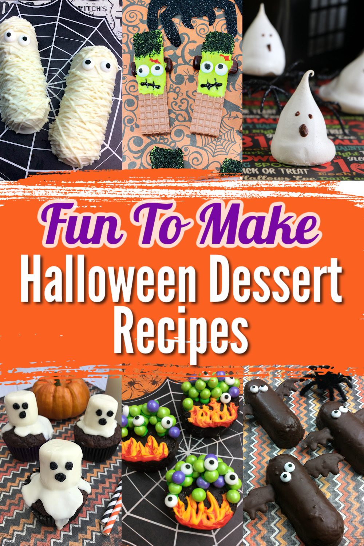Fun To Make Halloween Dessert Recipes
