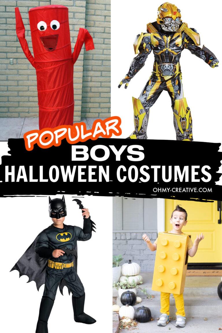 20 Popular Halloween Costumes For Boys
