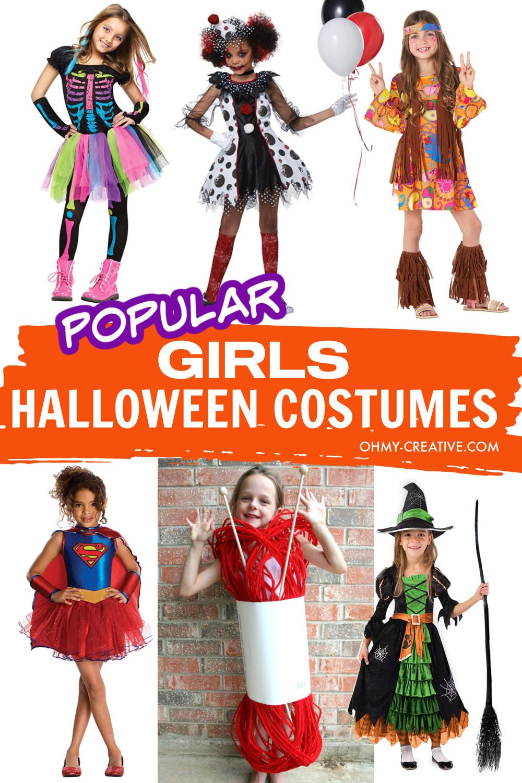 Popular Halloween Costumes For Girls