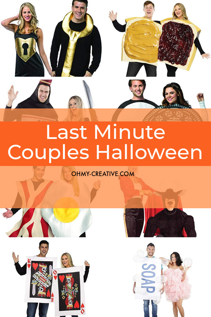 Try one of these Couples Halloween Costume Ideas this Halloween!